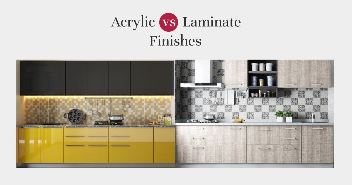 Acrylic Or Laminate Which Is The Better Finish