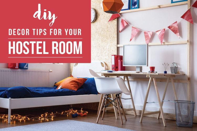 5 Easy Budget Friendly Decoration Ideas For Your Hostel Room