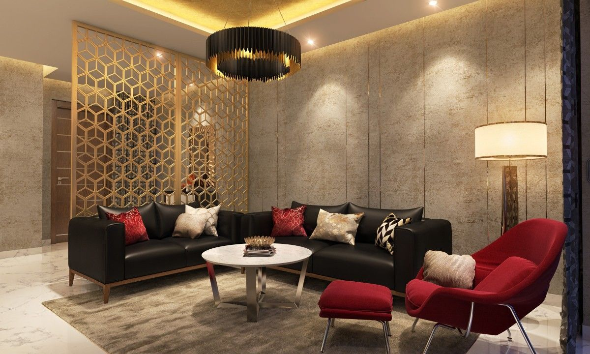 Leather Crush  12 Living Room Designs With Leather Sofas