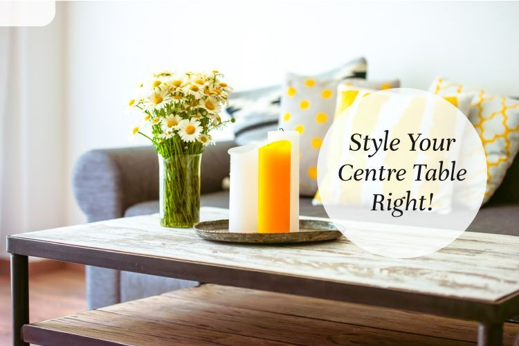 Easy Table Decor Ideas For Your Home, Center Table Decoration For Living Room