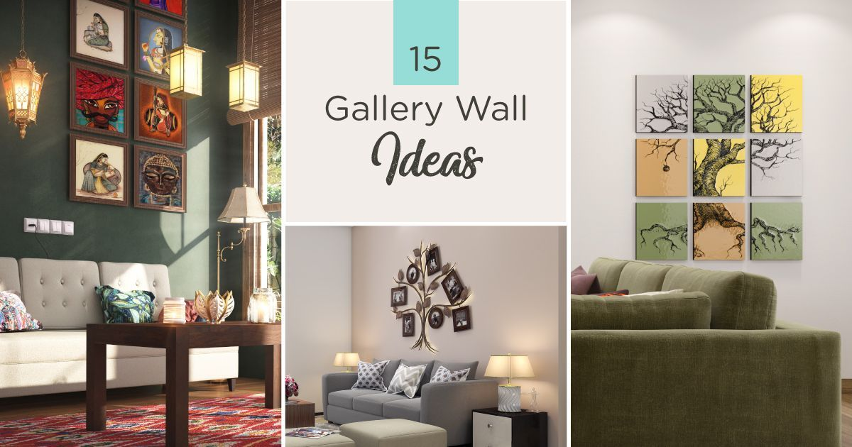 Wall Makeover Creative Gallery Wall Ideas