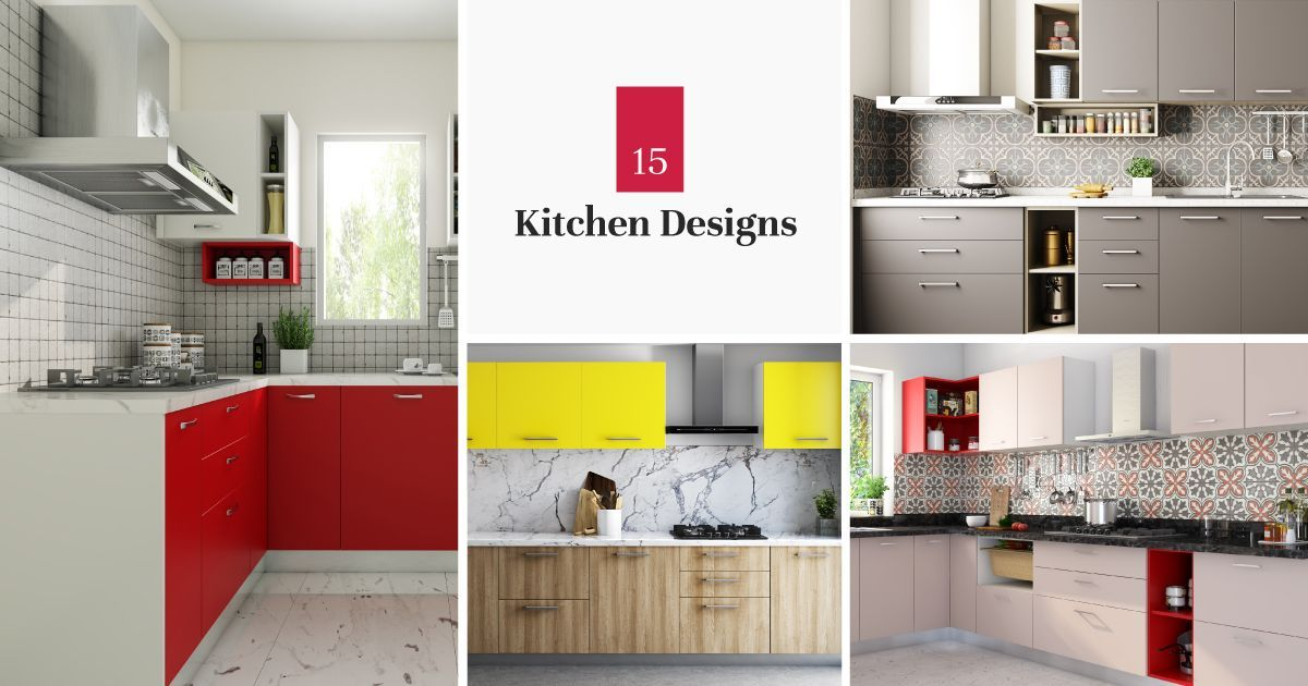 15 New Kitchen Designs Curated Just For You