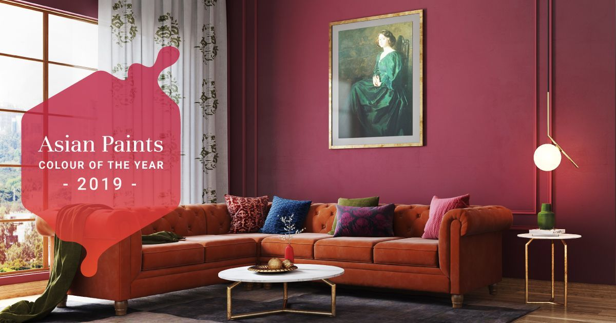 Interiors Like Fine Wine With 2019 S Hottest Colour
