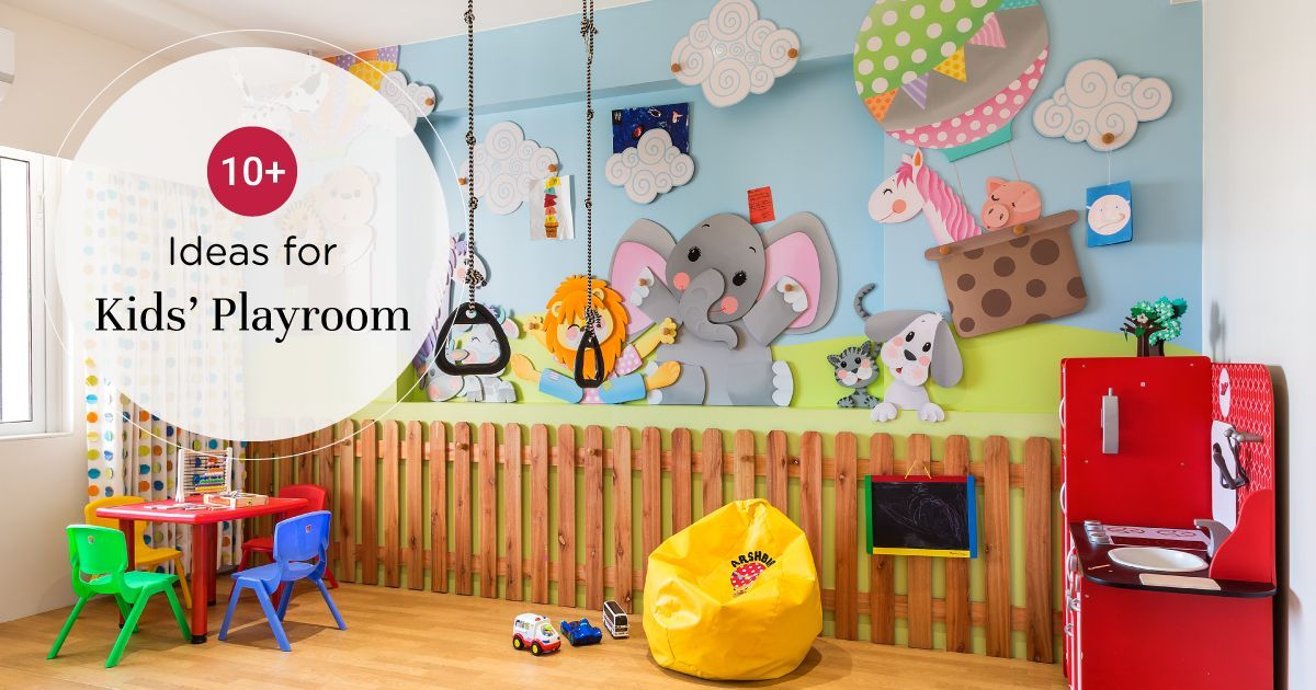 Quirky Kids Playroom Ideas
