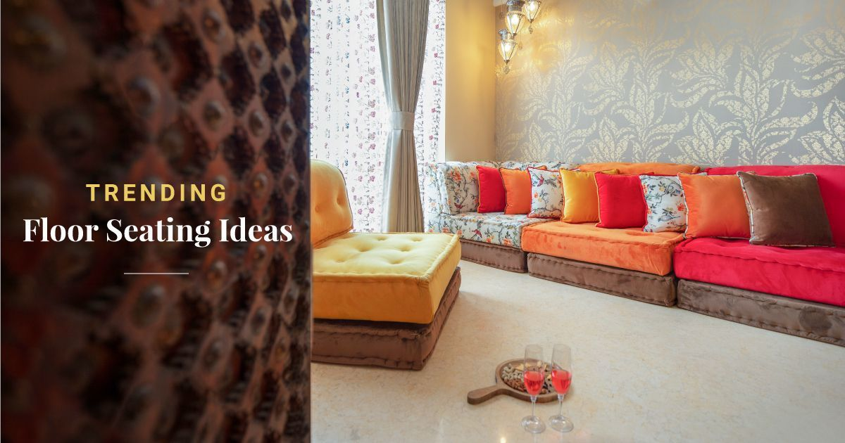 Low Seating Ideas For Your Home