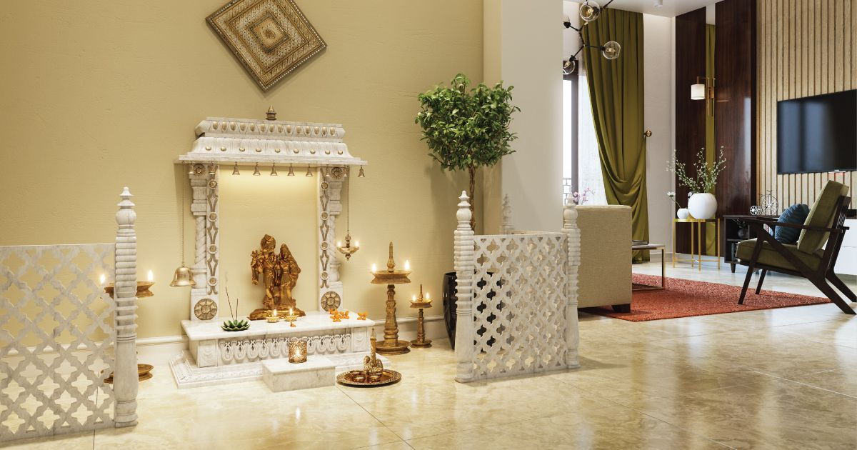 Which Mandir Design Is The Best For Your Living Room