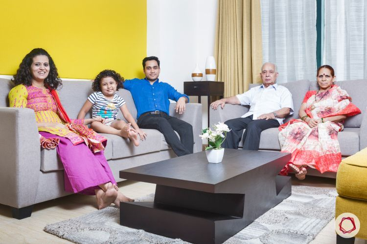 Colorful Notes Brighten Up A Family Home In Noida