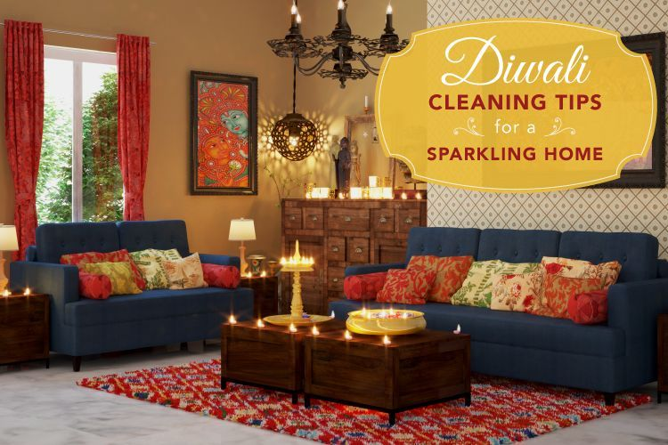 6 Diwali Cleaning Tips For A Sparkling Home