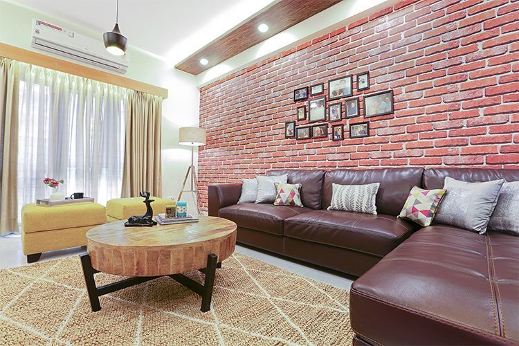 Warm Wooden Accents Add Character To This Noida Home