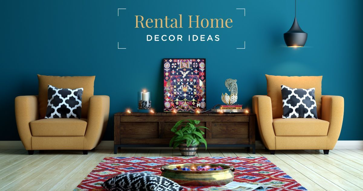 decor ideas for rental home