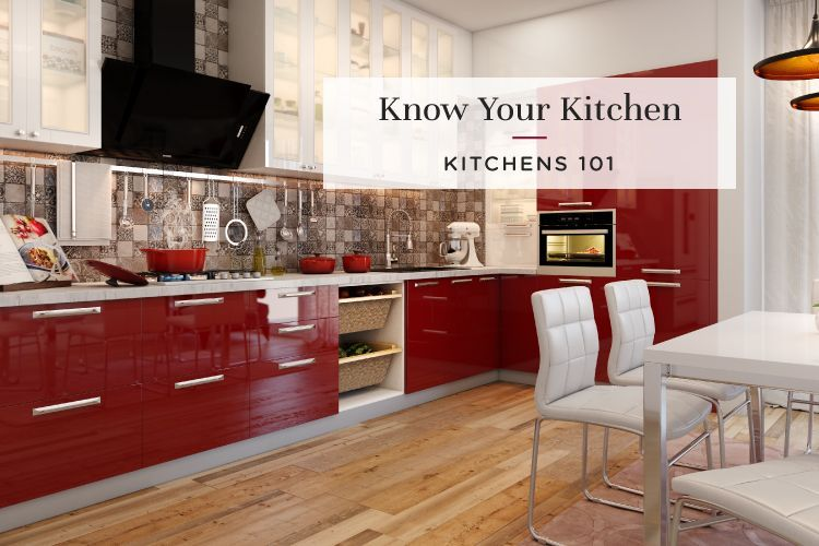Kitchens 101: Components of a Modular Kitchen