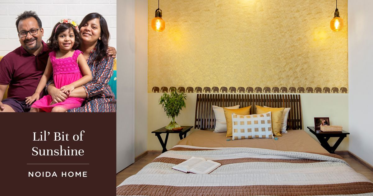 An Art Enthusiast's Home Comes Alive in Noida