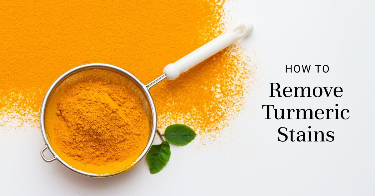 Tackling Turmeric Stains in the Kitchen?