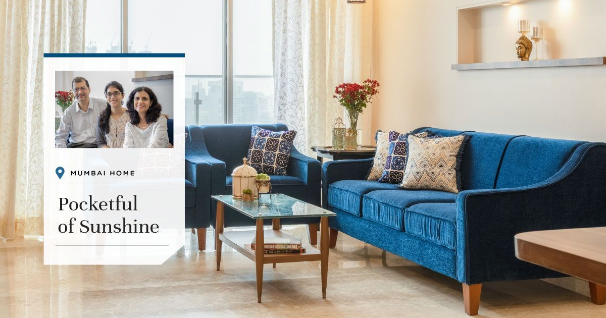 Smart Spaces in Pretty Pastels: 3BHK Comes to Life