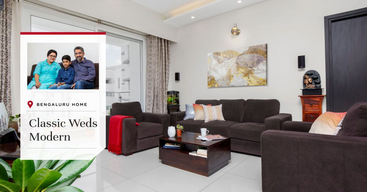 This Purva Apartment is Filled with Traditional Accents