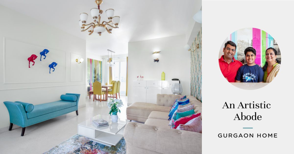 Living with Colours: Inside an Exquisite & Creative Home