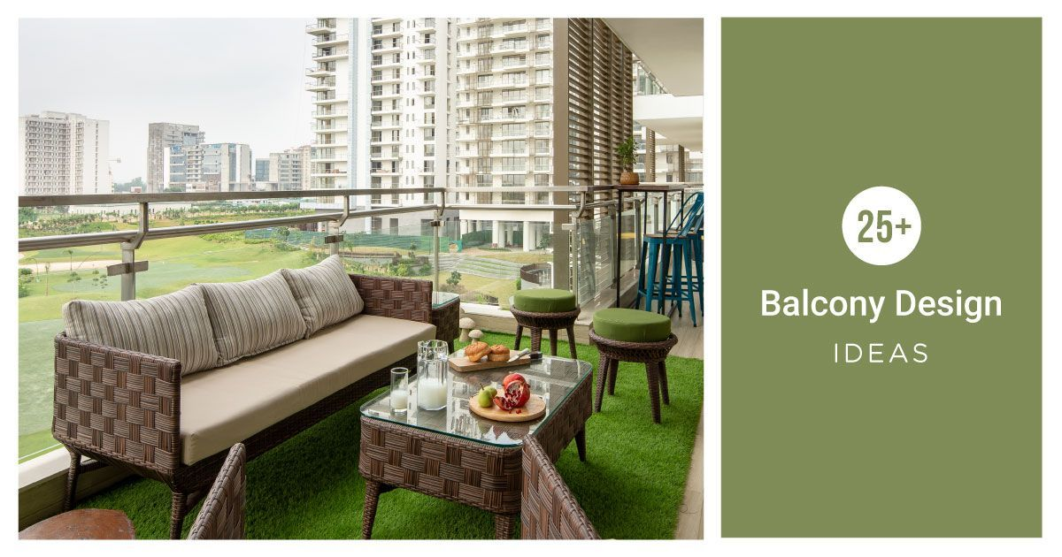 Balconies from #LivspaceHomes That Will Floor You
