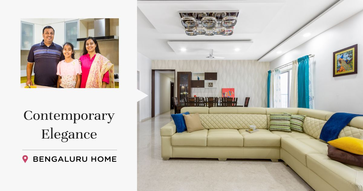 4BHK at Sobha Forest View Gets Clutter-free Design