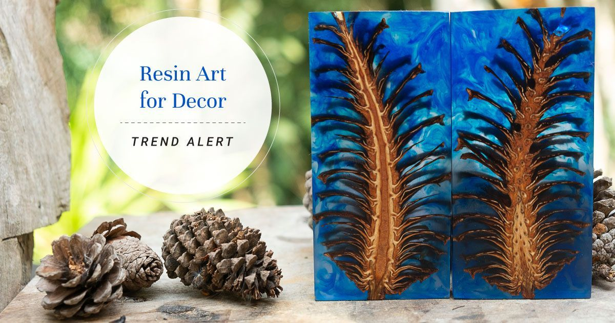Resin Art for an Insta-worthy Home