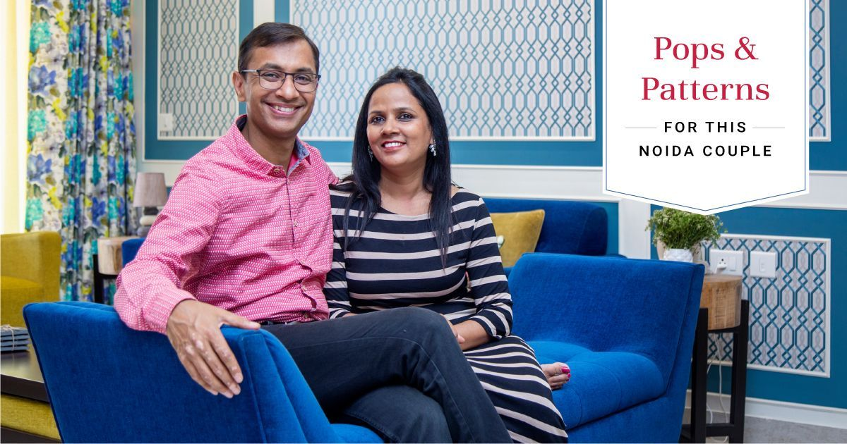 Cleo County Gets a Colour-filled 3BHK
