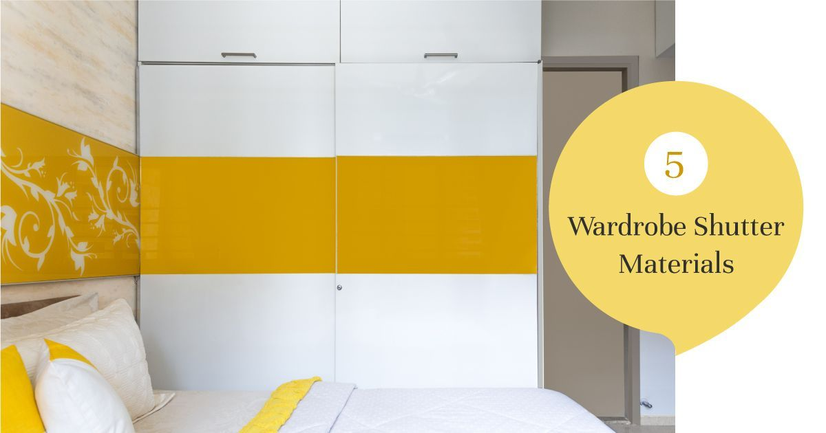 Material Choices for Wardrobe Shutters