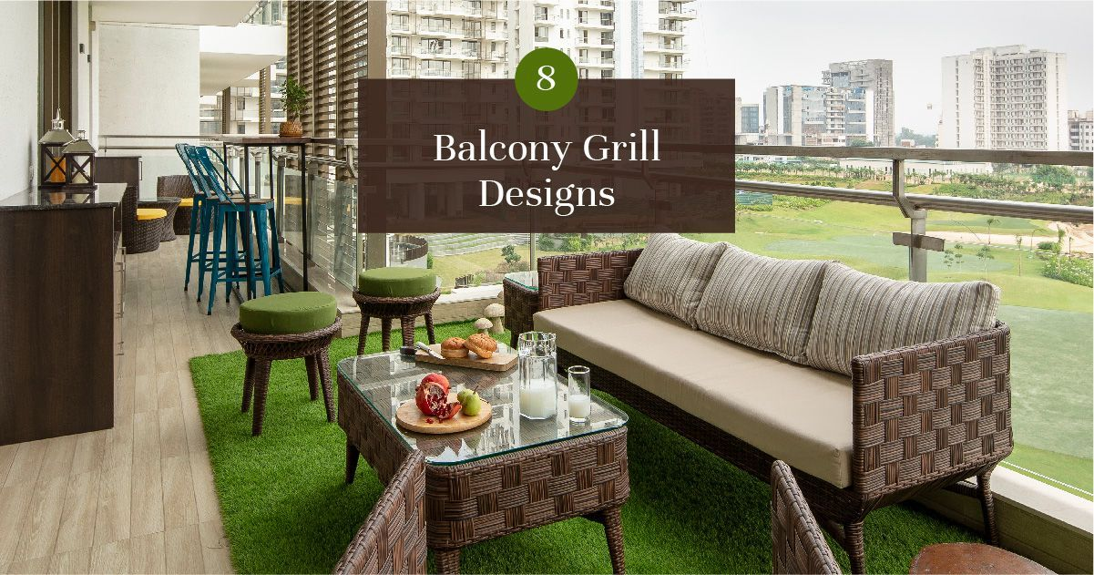 Grills Designs for All Balcony Sizes