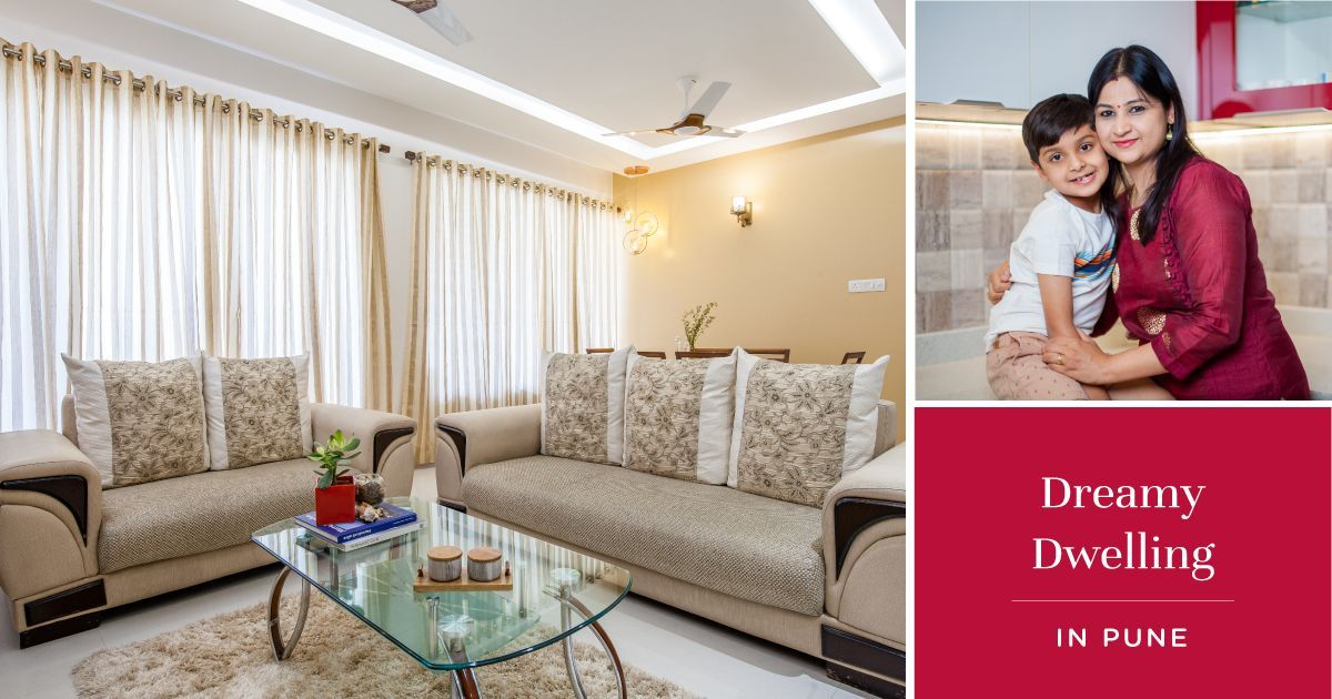 2BHK Interiors with Anti-scratch Finishes & Ambient Lighting