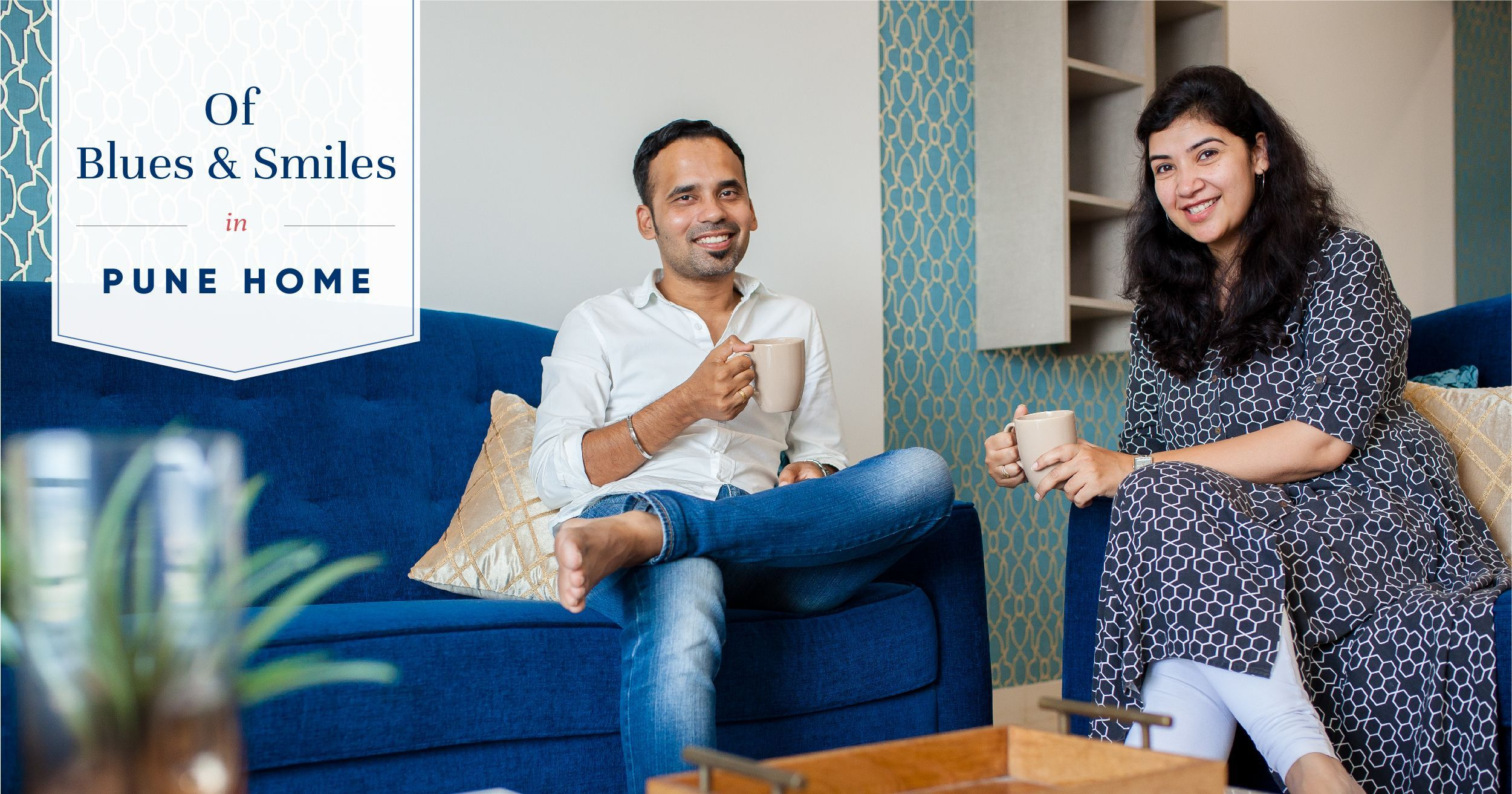 This 2BHK Gets a Clutter-free Budget Design