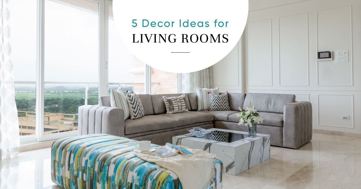 Easy-to-maintain Living Room Designs