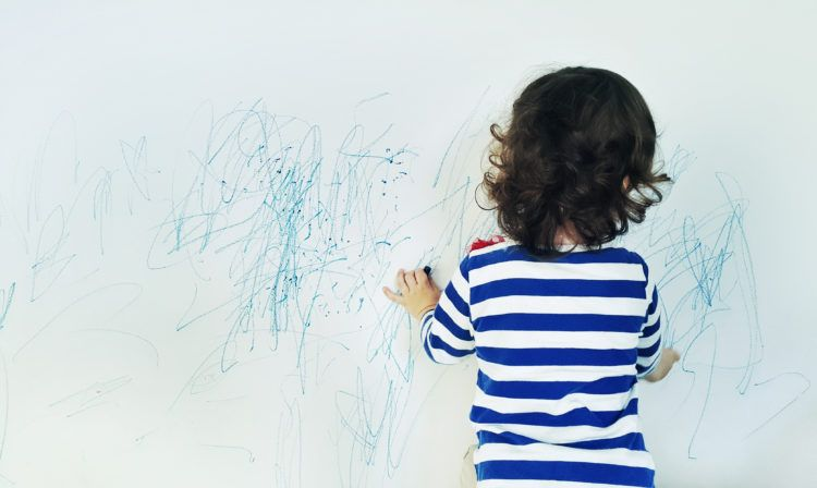 How To Get Rid Of Crayon Marks From Your Walls
