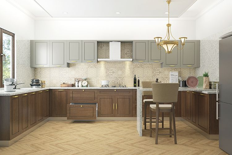 9 Delectable Accent Colors For Brown Kitchens