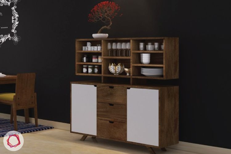 Bar designs for small apartments