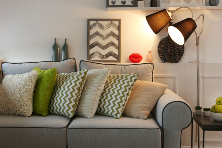 Smart Design Ideas For The Space Behind Your Sofa