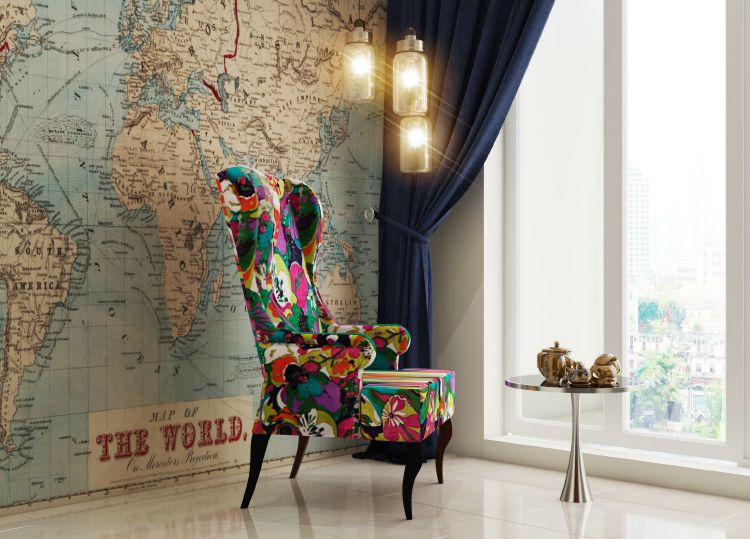 7 Ways To Style Your Walls With Maps