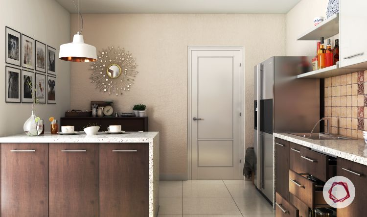 8 space saving ideas for indian homes - Space saving kitchen island ...