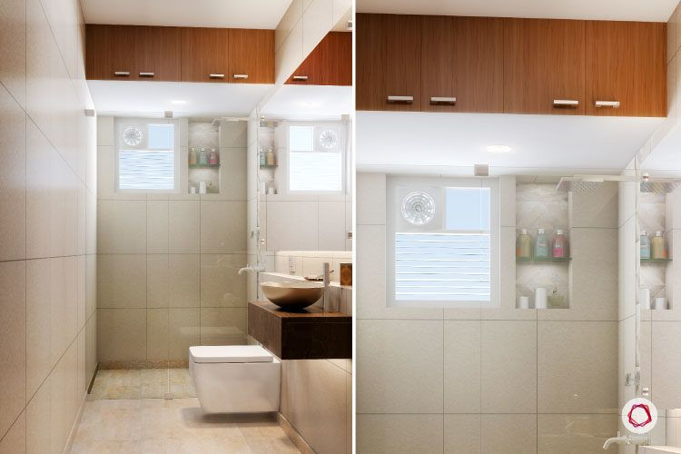 5 Superb Small Bathroom Designs For Indian Homes