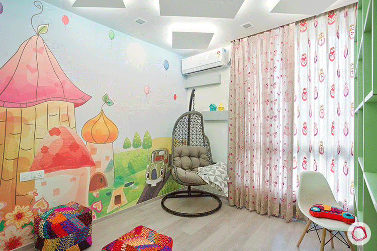 Types of paint kids bedroom interior design ideas for What type of paint to use in bedroom