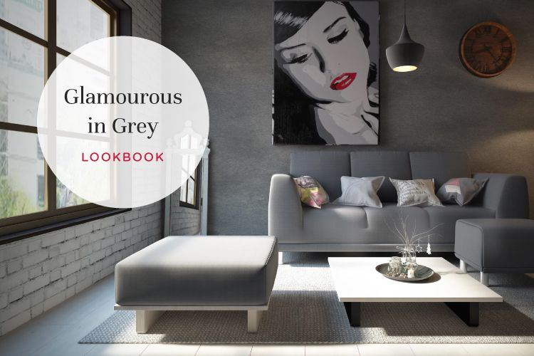 Go for Grey: Living Room Designs You Will Love
