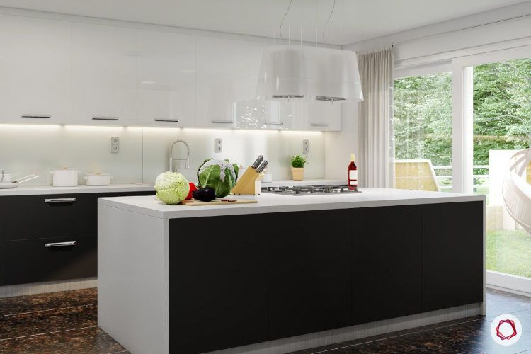 If You Have A Straight, L Shaped Or U Shaped Kitchen Layout, And Have  Plenty Of Space For Movement, You Can Add An Island Counter. This Counter  Can Serve As ...