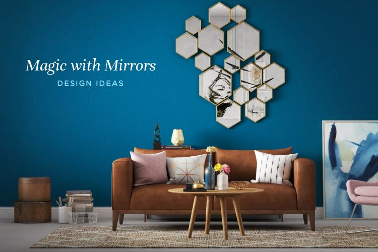 10 Ways to Decorate with Mirrors to Add Grandeur