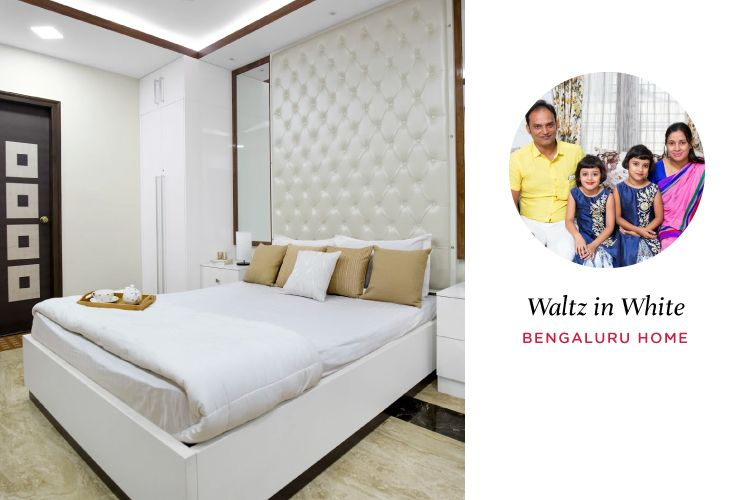 Warm, Welcoming and All-White Bangalore Home