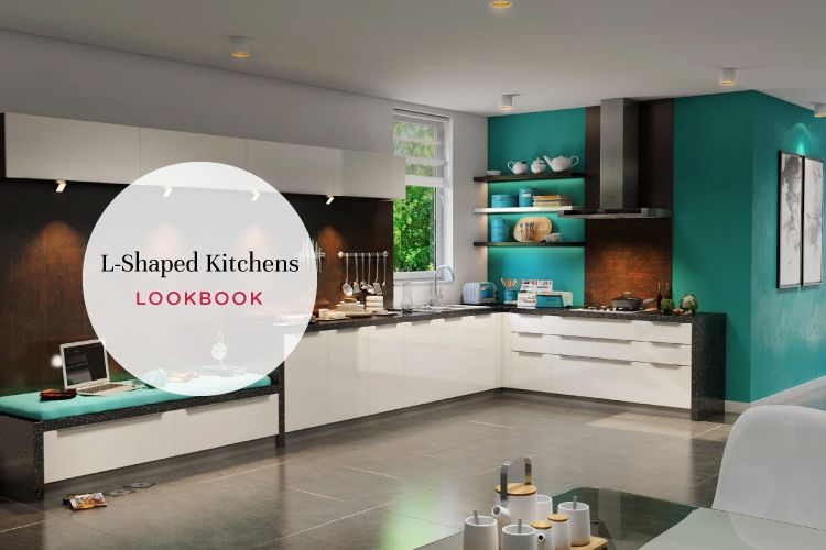 Pretty, Plush and Practical: L-Shaped Kitchen Designs