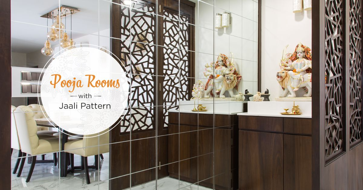 Luxurious & Intricate Latticework for Pooja Rooms