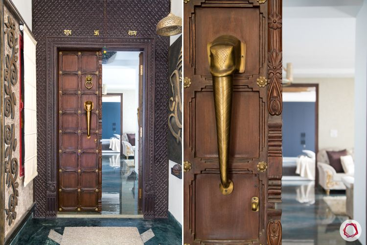 According To Vastu The Main Door Of Home Should Be Largest And Placed In North East Or Direction