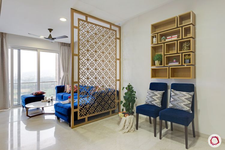 Lodha Fiorenza Home Decor Jali Partition Interior Design Ideas