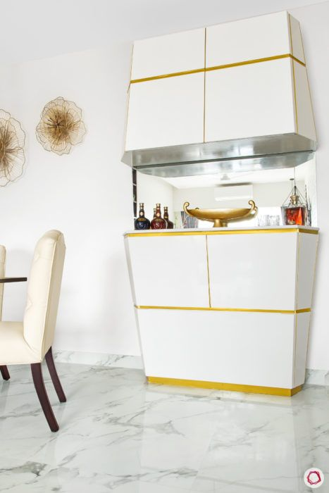 For A Compact Home Wall Mounted Or Built In Bar Units Work Great If You Can Spare Some E Full Fledged Area With Seating And Counter