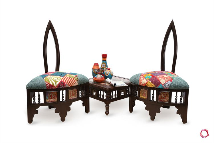 Traditional Furniture Design 1 Statement Low Seating Chairs