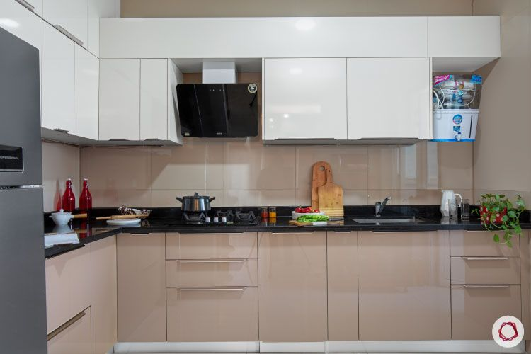 Indian house design_kitchen straight view