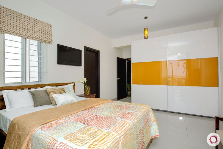 Indian house design_master bedroom full view