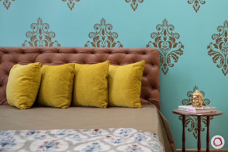 Cleo county home design_mothers room bed
